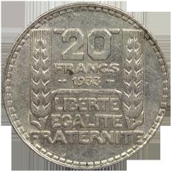 20 francs Turin